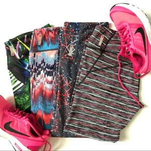 Zella Leggings 4-Pk Bundle Small